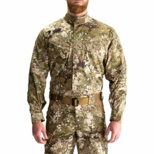 "Рубашка тактическая ""5.11 GEO7™STRYKE TDU® LONG SLEEVE SHIRT"" Terrain"