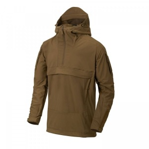 Куртка-анорак MISTRAL ANORAK - SOFT SHELL - Mud Brown