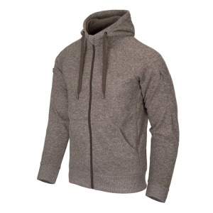 Тактическая куртка COVERT TACTICAL HOODIE (FULLZIP) - LIGHT TAN MELANGE