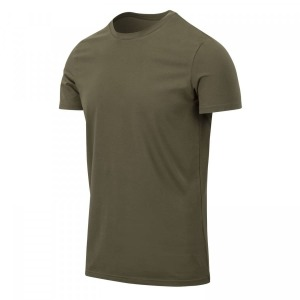 Футболка T-SHIRT SLIM Helikon-tex - Olive Green