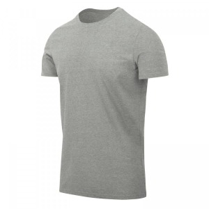 Футболка T-SHIRT SLIM Helikon-tex - Grey Melange