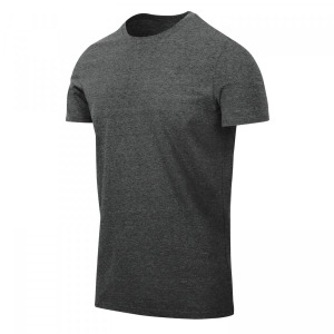 Футболка T-SHIRT SLIM Helikon-tex - Black-Grey Melange