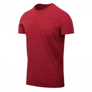 Футболка T-SHIRT SLIM Helikon-tex - Red Melange